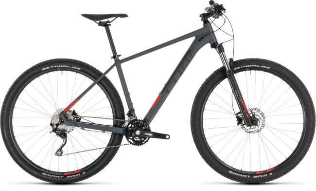 CUBE Attention Iridium/Red 2019 19″ 29er