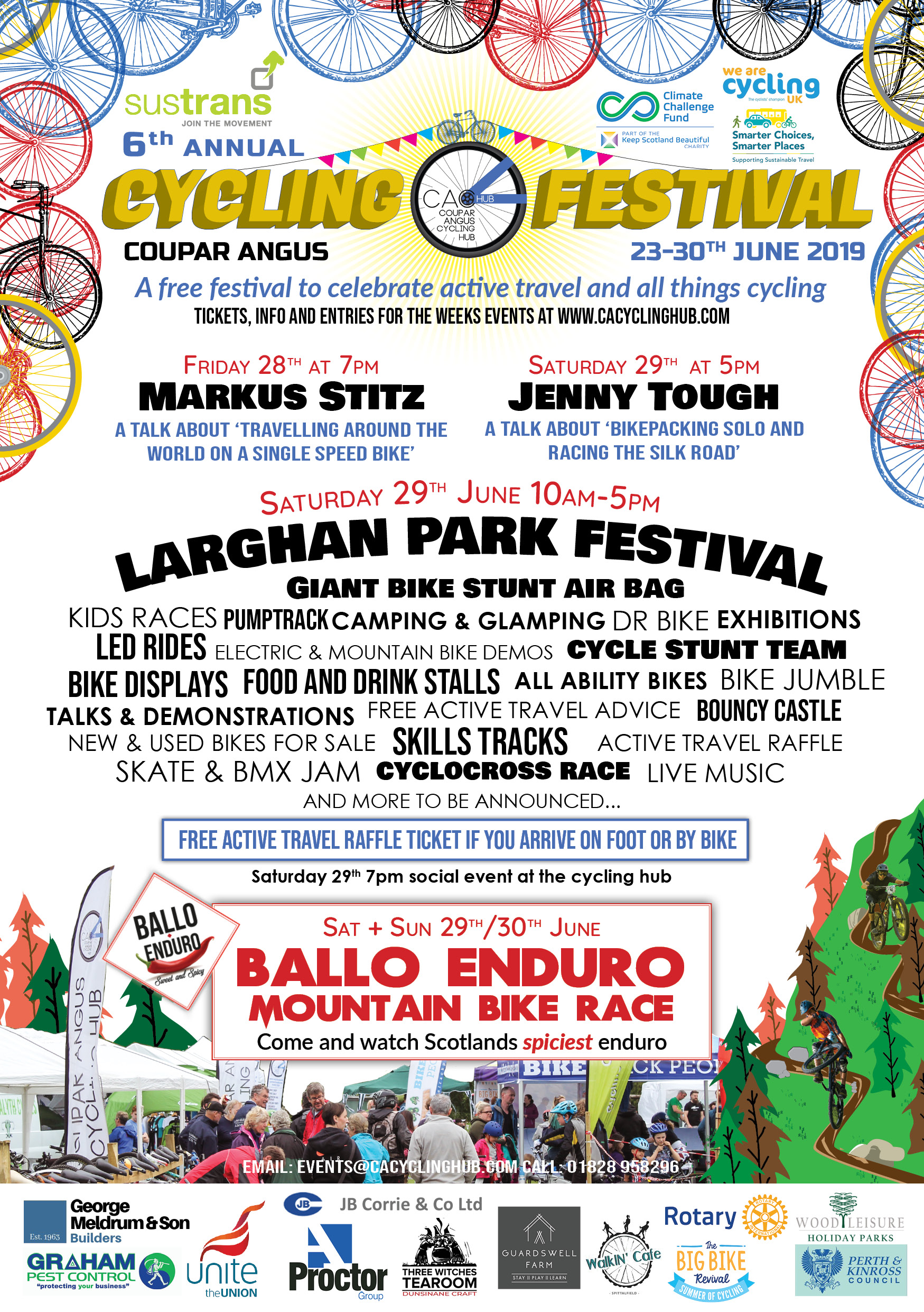 CACYCLING FEST FLYER
